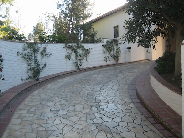Los Angeles Flagstone Driveways